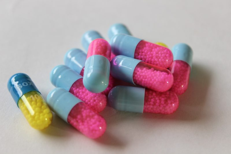Diferentes pastillas