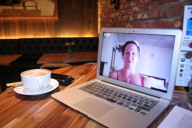 Videoconferencia mediante el programa skype