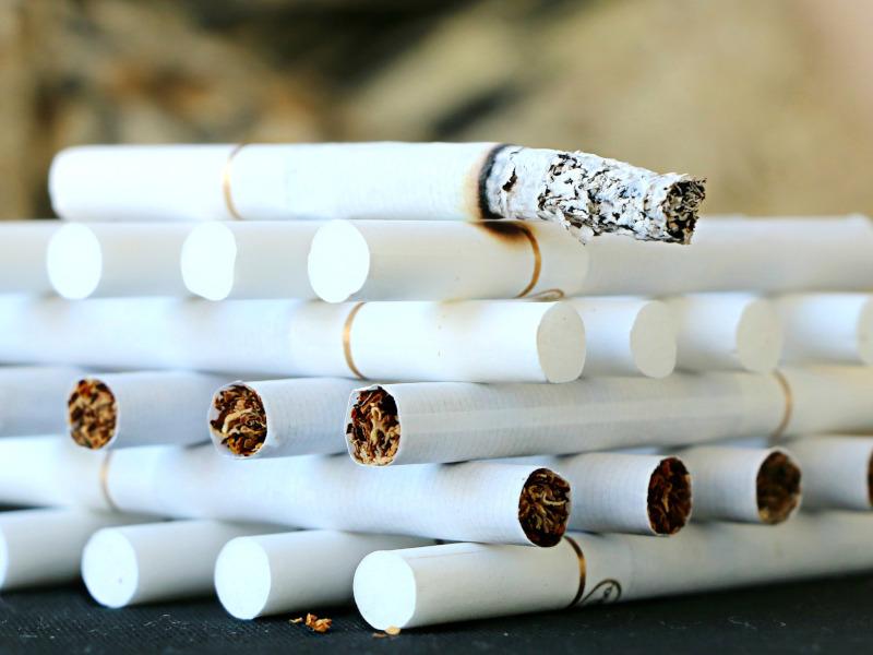 Torre de cigarrillos